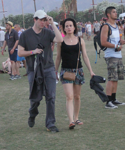 Elizabeth Reaser wallpaper called Elizabeth at Coachella Music Festival 2012.