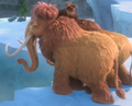Ellie and Peaches - ice-age photo