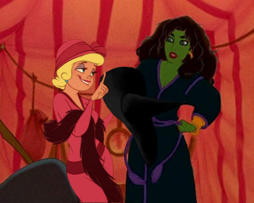 Elphaba and Galinda