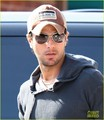 Enrique Iglesias: Dog Adoption Day! - enrique-iglesias photo