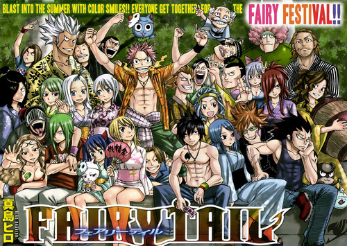 Fairy Tail Guild wallpaper with anime titled Fairy Festival