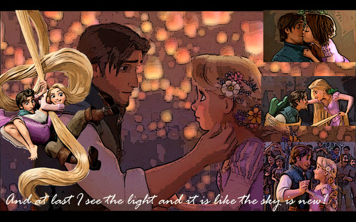 Flynn and Rapunzel - disney-princess Fan Art