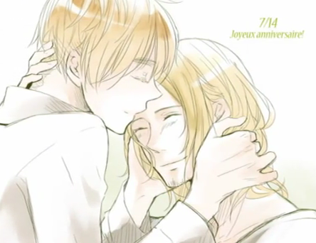 France x England - hetalia-couples Fan Art