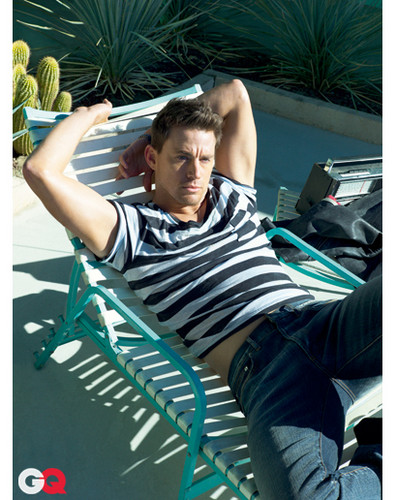 GQ March 2011 photoshoot