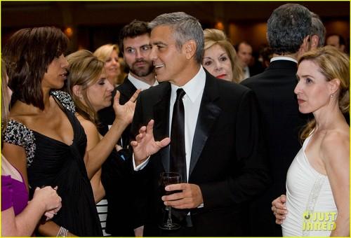 George Clooney - White House Correspondents' makan malam, majlis makan malam 2012