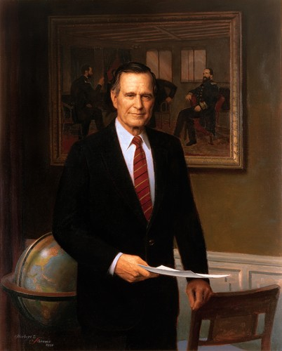 The Presidents of The United States hình nền called George H. W. bụi cây, cây bụi, tổng thống bush