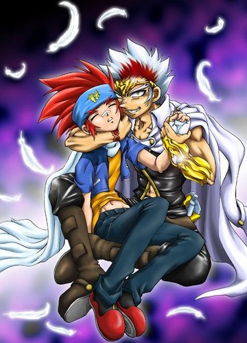 Ginga x Ryuga. . Wallpaper and background images in the Beyblade Yaoi