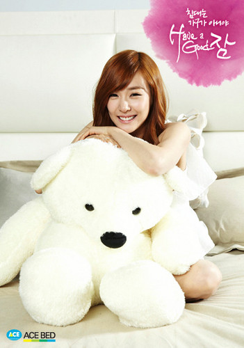 "Girls' Generation Tiffany ""Ace Bed"""