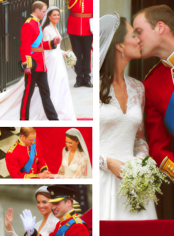 Happy One 年 Anniversary Catherine & Prince William!