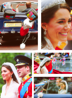Happy One tahun Anniversary Catherine & Prince William!