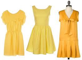 Happy Yellow Dresses