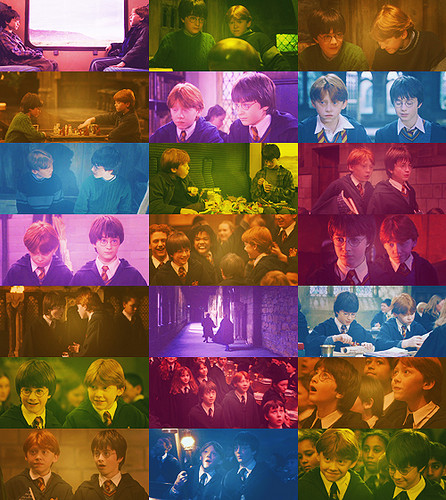 Harry & Ron - Harry Potter and The Sorcerer's Stone