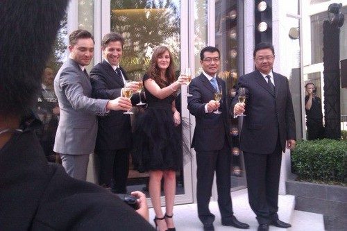Harry Winston Store Opening Shanghai - April 27, 2012