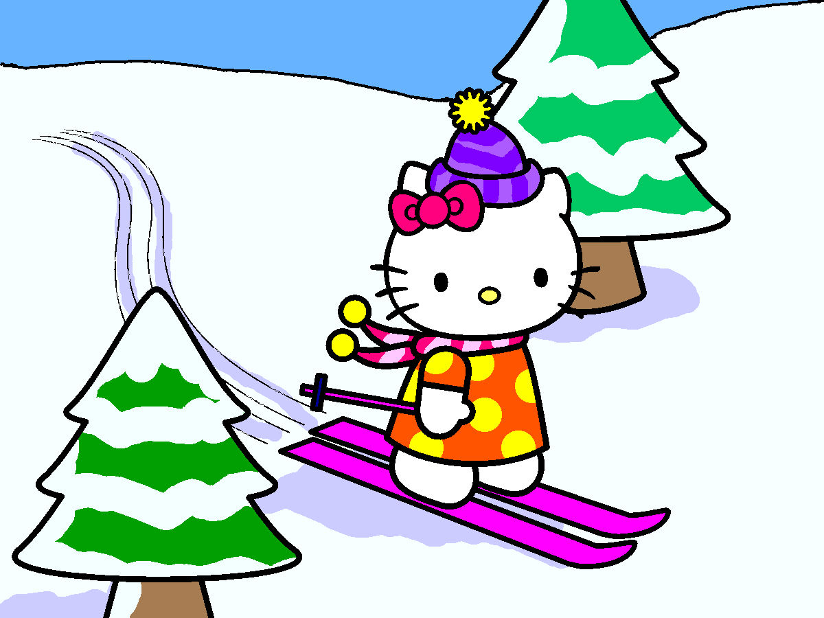 Hello Kitty Hello Kitty Coloring Page