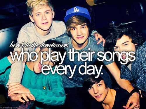 Here's to the Directioners ♥