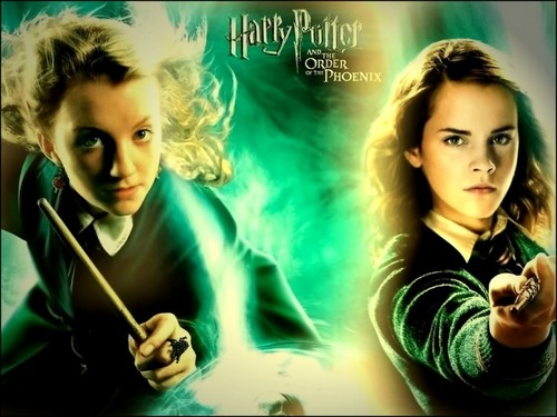 Hermione and Luna