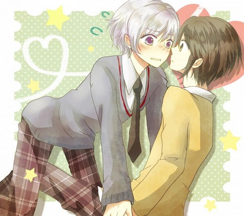 Hetalia Couples! karatasi la kupamba ukuta with anime called HongIce