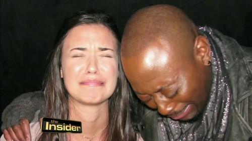 豪斯医生 壁纸 titled Omar Epps and Odette Annable House MD- The Insider