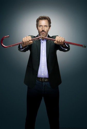 "House Season 8 - Poster ""The End"""
