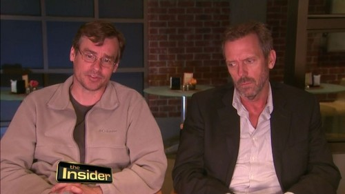 Hugh Laurie and Robert S.Leonard-The insider.