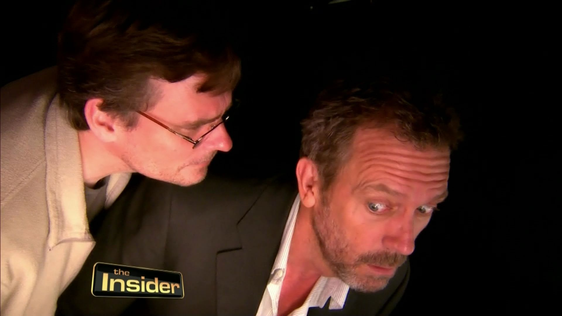 Hugh Laurie and Robert S.Leonard House MD- The Insider