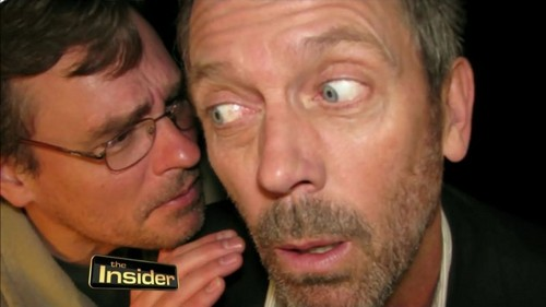 Hugh Laurie and Robert S.Leonard House MD- The Insider - house-md Photo