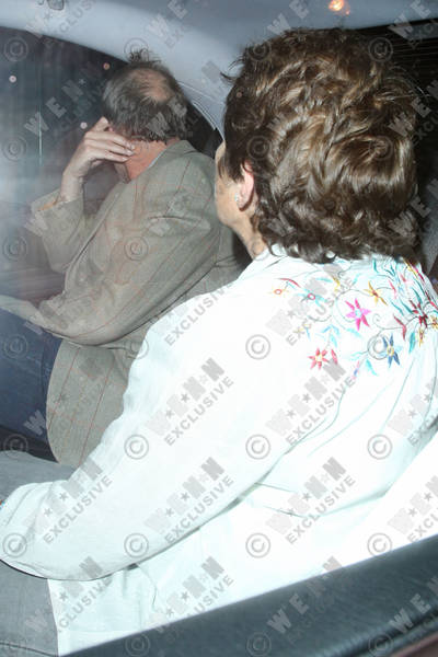 Hugh Laurie leaving the Ivy club- London, England - 01.05.12