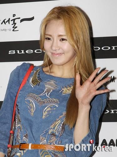 Hyoyeon @ Lee Bohyun Collection Fashion mostrar
