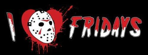 Friday the 13th wallpaper entitled I Love Fridays.