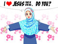 I love Jesus pbuh. do you? - islam fan art