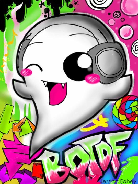 Iggy/Icky Boo (dk his name he has two O_O) and बिना सोचे समझे kawii वॉलपेपर xD