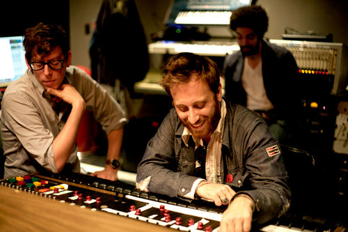In the Studio - the-black-keys Photo