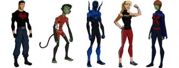 Invasion: Superboy, Beast Boy, Blue Beetle, Wonder Girl and Miss Martian