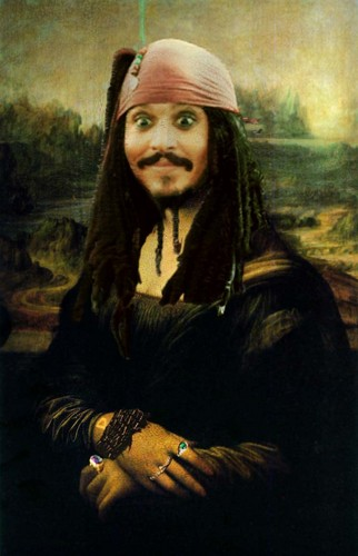 Jack Sparrow - Mona Lisa - captain-jack-sparrow Photo