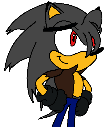 Dark Star The Hedgehog Sonic Recolors (by me!...