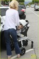 January Jones: Lunch with Baby Xander - january-jones photo