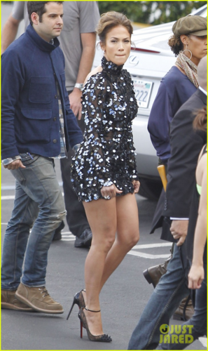 "Jennifer - Arrival to the set of ""American Idol"" in West Hollywood - April 26, 2012"