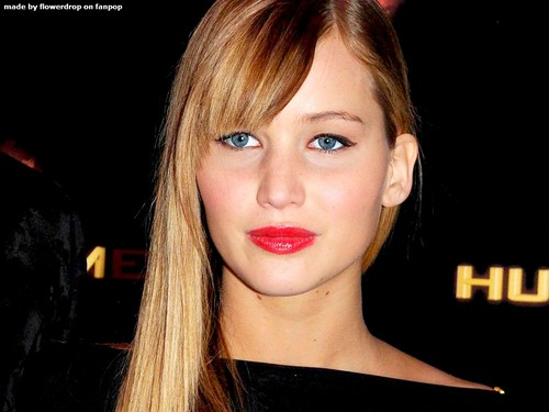 Jennifer Lawrence wallpaper with a portrait called Jennifer Lawrence Wallpaper ღ