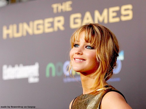 Jennifer Lawrence wallpaper probably with a sign and a portrait titled Jennifer Lawrence Wallpaper ღ
