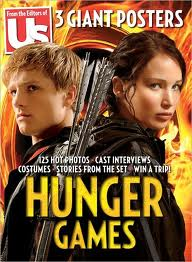 Jennifer Lawrence and Josh Hutcherson on US Weekly cover - the-hunger-games Photo
