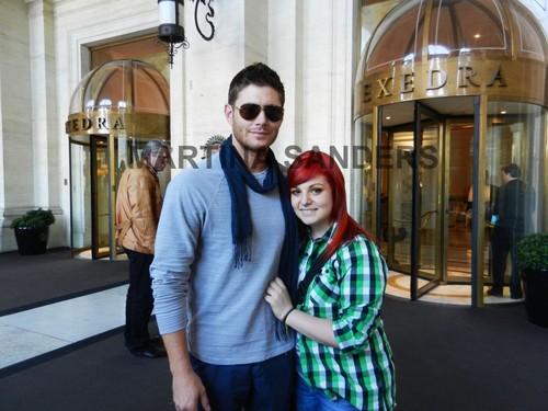 Jensen with پرستار