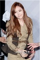 Jessica at the Burberry flagship store opening in Taiwan
