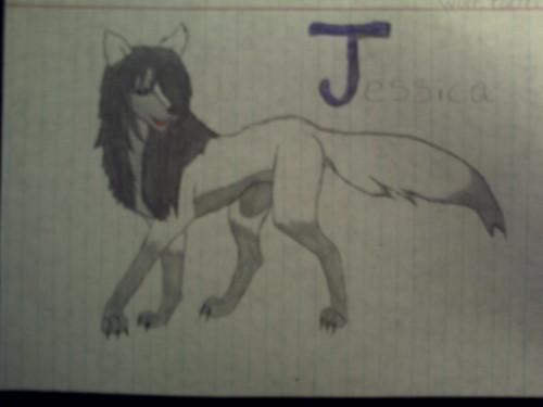 Jessica(wolf form)