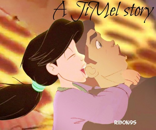 disney crossover achtergrond with anime titled JiMel story