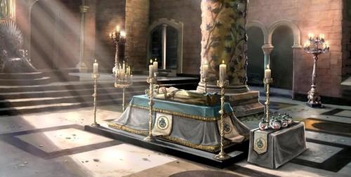 Jon Arryn's Funeral Concept Art