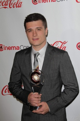 Josh Hutcherson at 2012 CinamaCon Awards - josh-hutcherson Photo