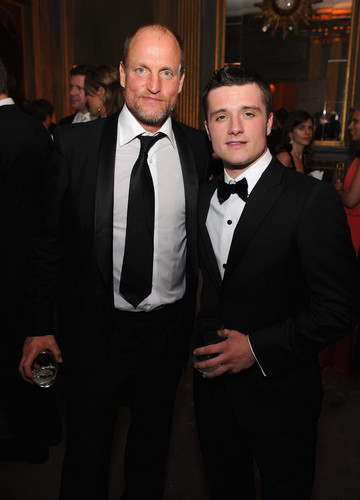 Josh and Woody at White House Correspondents' Association 晚餐