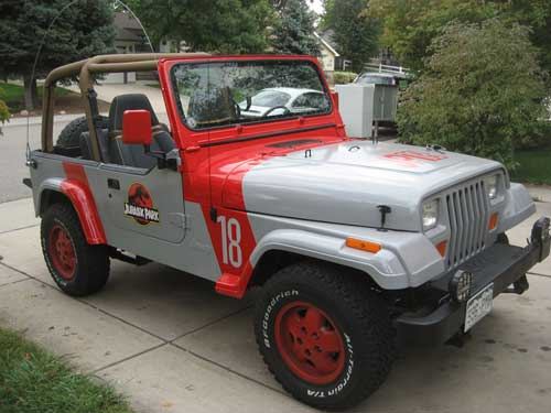 Jurassic Park Yjs Jeep Photo 30600815 Fanpop