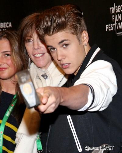 Justin At Tribeca Film Festival