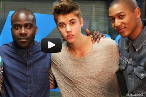 Justin Bieber Full interview - KISS FM (UK)